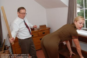 Firm Hand Spanking - Spanked In Uniform - J - image 1