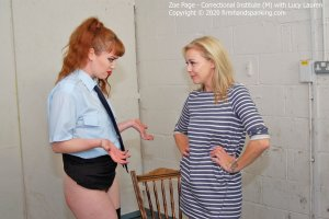 Firm Hand Spanking - Correctional Institute - M - image 1