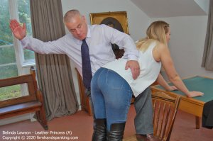 Firm Hand Spanking - Leather Princess - A - image 7