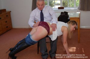 Firm Hand Spanking - Leather Princess - A - image 3