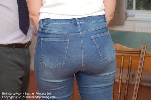 Firm Hand Spanking - Leather Princess - A - image 1