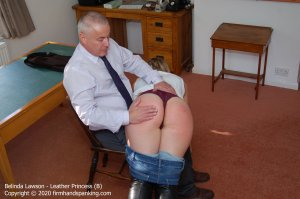 Firm Hand Spanking - Leather Princess - B - image 7