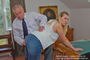 Firm Hand Spanking - Leather Princess - A - image 8