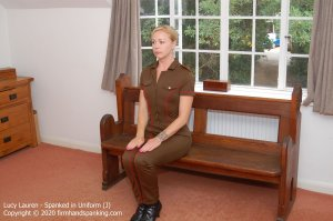 Firm Hand Spanking - Spanked In Uniform - J - image 4
