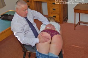 Firm Hand Spanking - Leather Princess - A - image 5