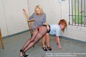 Firm Hand Spanking - Correctional Institute - L - image 6