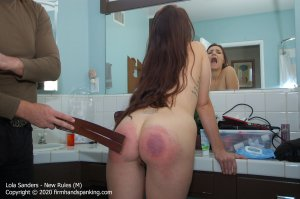 Firm Hand Spanking - New Rules - M - image 8