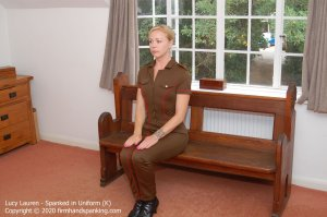 Firm Hand Spanking - Spanked In Uniform - K - image 9