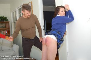 Firm Hand Spanking - New Rules - K - image 4