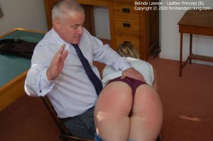 Firm Hand Spanking - Leather Princess - B - image 9