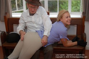 Firm Hand Spanking - Spanked In Uniform - G - image 4