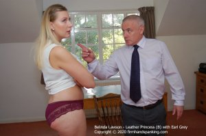 Firm Hand Spanking - Leather Princess - B - image 4