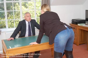 Firm Hand Spanking - Leather Princess - A - image 4