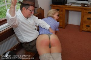 Firm Hand Spanking - Spanked In Uniform - G - image 9