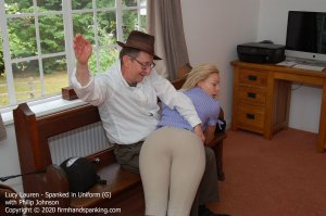 Firm Hand Spanking - Spanked In Uniform - G - image 1