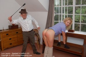 Firm Hand Spanking - Spanked In Uniform - H - image 6