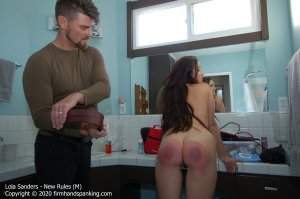 Firm Hand Spanking - New Rules - M - image 4