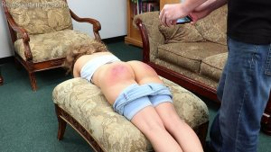 Real Spankings - A Proper Whoopin' After Getting Paddled At School - image 2