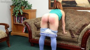 Real Spankings - Nina's 2 Part Belt Test (part 1 Of 2) - image 3