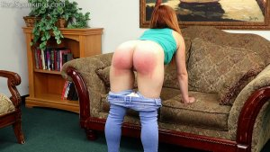 Real Spankings - Nina's 2 Part Belt Test (part 1 Of 2) - image 7