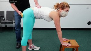 Real Spankings Institute - Nina: Pulled From Gym For A Paddling - image 8