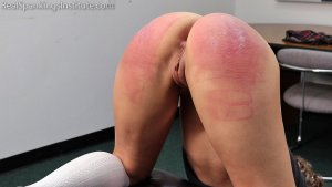 Real Spankings Institute - Slacking On Her Chores & A Dress Code Violations (part 2) - image 4
