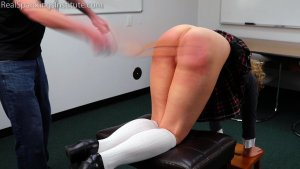 Real Spankings Institute - Slacking On Her Chores & A Dress Code Violations (part 1) - image 5