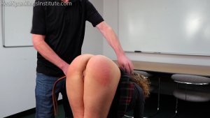 Real Spankings Institute - Slacking On Her Chores & A Dress Code Violations (part 1) - image 8