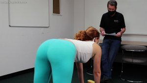 Real Spankings Institute - Nina: Pulled From Gym For A Paddling - image 4