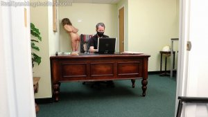 Real Spankings Institute - Kiki: Strapped & Paddled By The Dean (part 2) - image 7