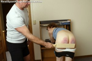 Real Spankings Institute - Jasmine And Heather Are Paddled By The Coach - image 3