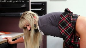 Real Spankings Institute - Cara's In-school Suspension (part 2) - image 2