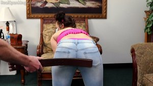 Real Spankings - Punished For Leaving The House Without Permission, And Without Her Mask (part 1) - image 4