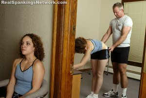 Real Spankings Institute - Jasmine And Heather Are Paddled By The Coach - image 9