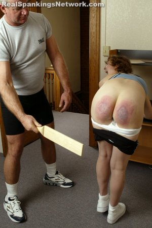 Real Spankings Institute - Jasmine And Heather Are Paddled By The Coach - image 14