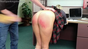 Real Spankings Institute - Cara's In-school Suspension (part 2) - image 9