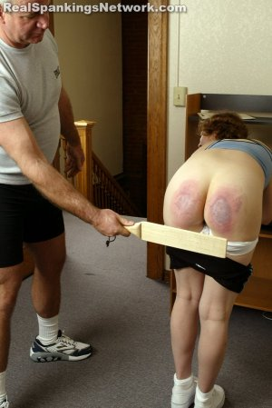 Real Spankings Institute - Jasmine And Heather Are Paddled By The Coach - image 8