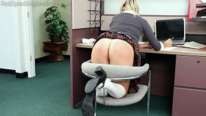 Real Spankings Institute - Cara's In-school Suspension (part 2) - image 4