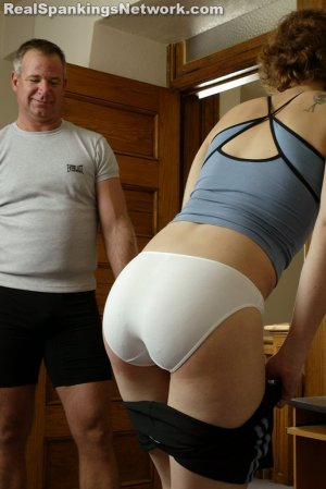 Real Spankings Institute - Jasmine And Heather Are Paddled By The Coach - image 1