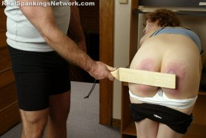 Real Spankings Institute - Jasmine And Heather Are Paddled By The Coach - image 10