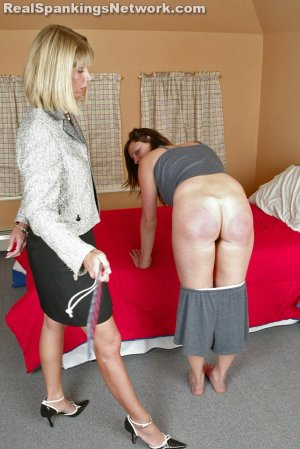 Real Spankings Institute - Jackie Recieves The Lexan At Bedtime - image 4