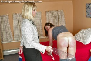Real Spankings Institute - Jackie Recieves The Lexan At Bedtime - image 9