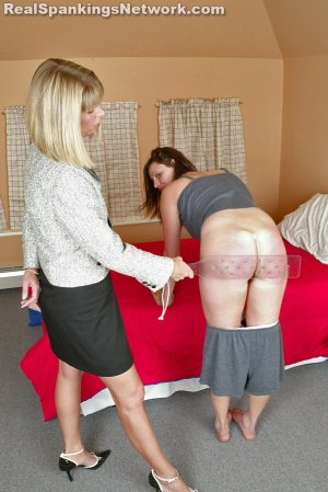 Real Spankings Institute - Jackie Recieves The Lexan At Bedtime - image 7