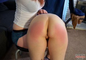 Spanking Veronica Works - Clare Gets A Yoga Spanking - image 9