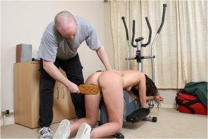 Spanked Cheeks - Fitness Spanking - image 3
