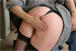 Spanked Cheeks - Tara Spanked For Surfing The Net - image 7