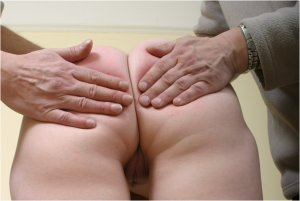 Spanked Cheeks - Double Spanking For Vicky - image 9