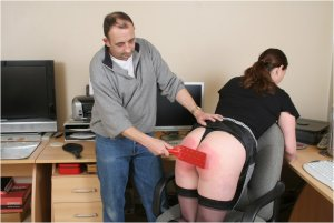 Spanked Cheeks - Tara Spanked For Surfing The Net - image 5