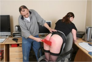 Spanked Cheeks - Tara Spanked For Surfing The Net - image 9