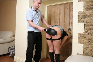 Spanked Cheeks - Spanked For Staying Out All Night - image 4